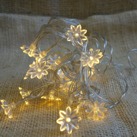 20% OFF Sunflower Warm white LED string lights